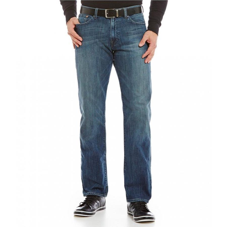 【驚きの値段】 ラッキーブランド Gold Lucky Original-Fit Brand 221 メンズ ジーンズ・デニム ボトムス・パンツ 221 Original-Fit Straight Blue Gold Jeans Blue Gold, 多度津町:e45de007 --- sonpurmela.online