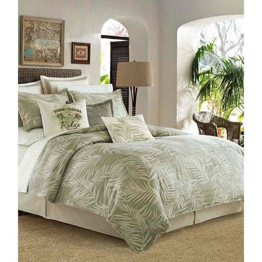 激安特価 トミー バハマ Set Tommy Bahama Green レディース 雑貨 Palms 雑貨 Away Comforter Set Open Green, トミウラマチ:9a736326 --- airmodconsu.dominiotemporario.com