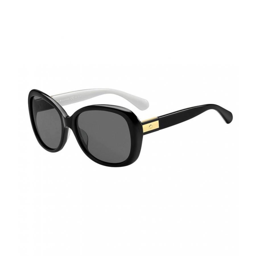 ケイト スペード kate spade new york レディース メガネ・サングラス Judyann Square Polarized Sunglasses 黒
