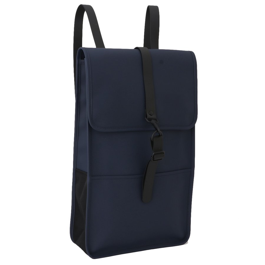 【即納】レインズ RAINS ユニセックス バックパック・リュック バッグ Backpack 1220 Blue タウンユース 通勤 通学 撥水 防水 デイパック A4サイズ|ef-3