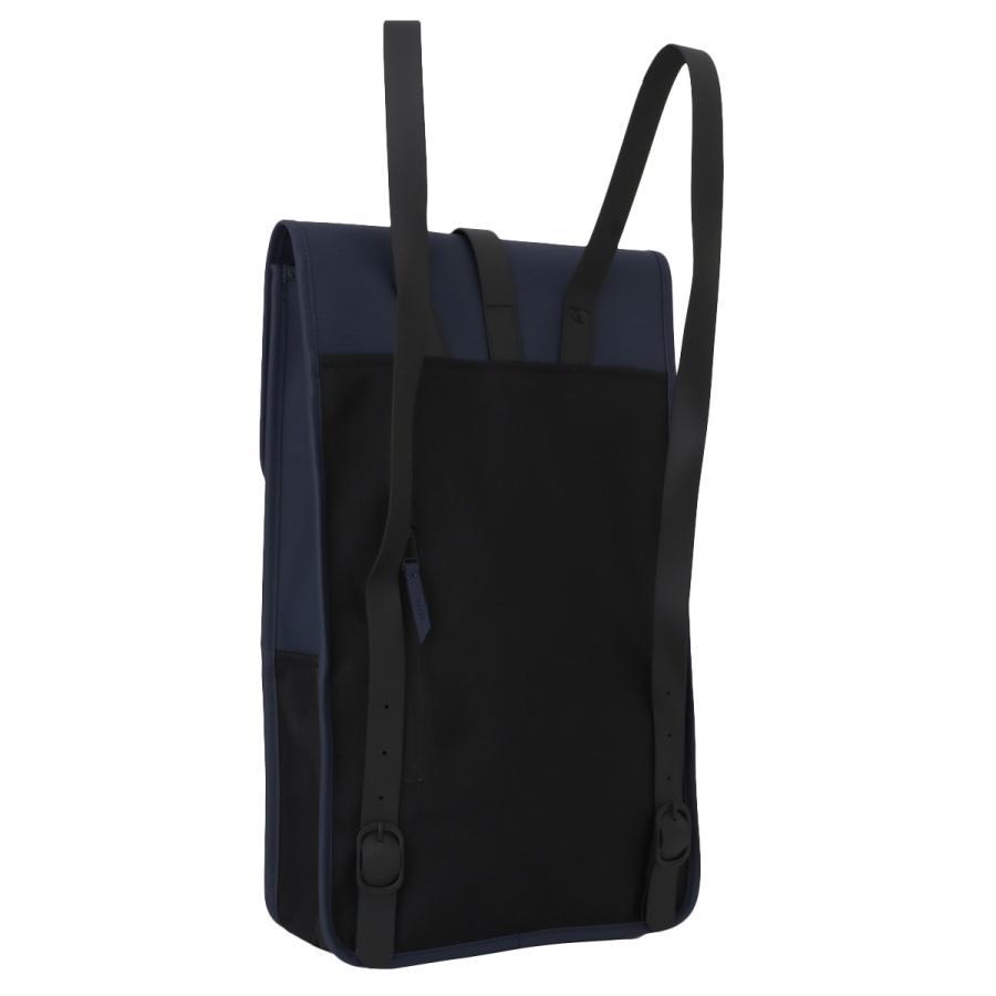 【即納】レインズ RAINS ユニセックス バックパック・リュック バッグ Backpack 1220 Blue タウンユース 通勤 通学 撥水 防水 デイパック A4サイズ|ef-3|02