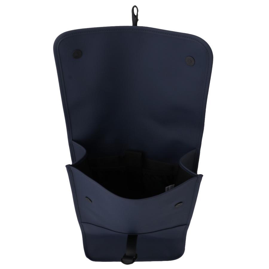 【即納】レインズ RAINS ユニセックス バックパック・リュック バッグ Backpack 1220 Blue タウンユース 通勤 通学 撥水 防水 デイパック A4サイズ|ef-3|03