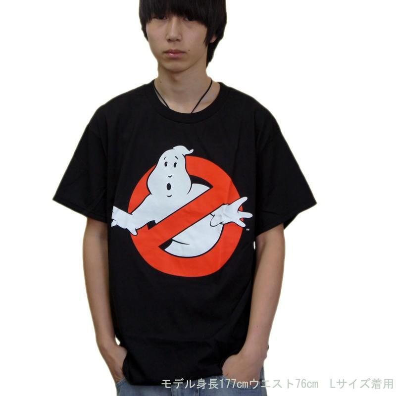 ゴースト バスターズ Tシャツ GHOSTBUSTERS ロゴ 映画 アメコミ キャラクターTシャツ USA|efc|03