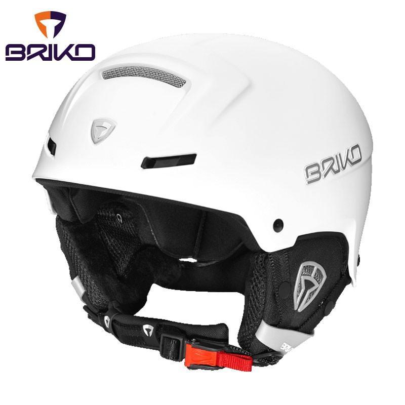 BRIKO(ブリコ) 20001M0 FAITO フリーライド スキーヘルメット メンズ レディース 923(マットホワイトアッ