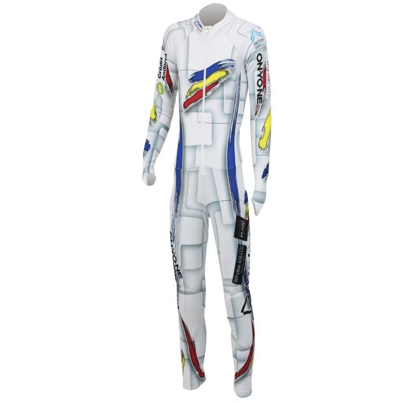 使い勝手の良い スキーウェア レーシング ONYONE(オンヨネ) ONO99A77 ANDORRA GS RACING SUIT FIS非対応 レプリカ レーシングスーツ 100(WHITE), 文化シヤッター d7b9ef3f