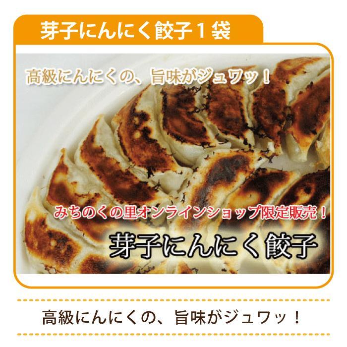 芽子にんにく餃子 1袋(50粒入り)*|egao-ichiba|04