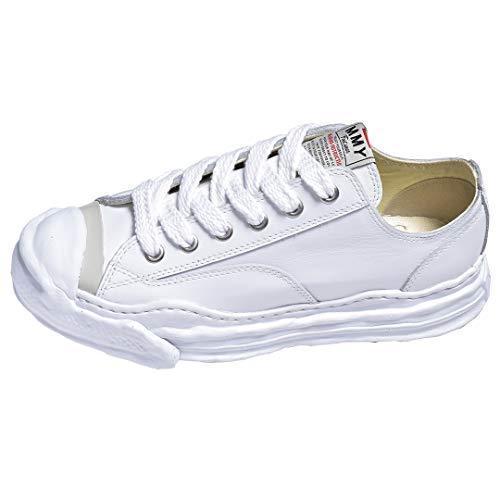 [ミハラヤスヒロ] スニーカー メンズ 白 黒 靴 MIHARA YASUHIRO ブランド おしゃれ ダッドスニーカー 厚底 ホワイト 2