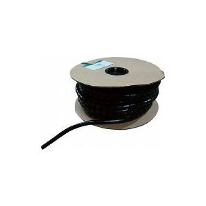 パンドウイット スパイラルラッピング 耐候性ナイロン66 黒 T100NC0