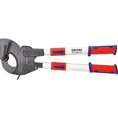 KNIPEX 9532−060 ラチェット式ケーブルカッター 600mm 9532060