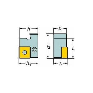 サンドビック 旋削用カセットホルダ L175.32322319