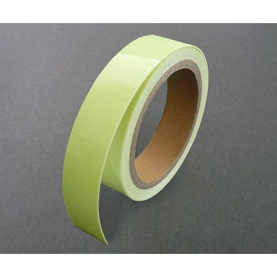 1-7378-02 高輝度蓄光テープ SuperSAF2505