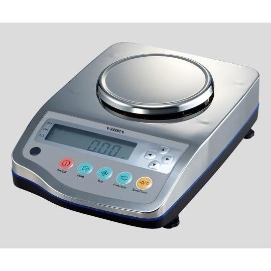 2-580-12 防塵・防水高精度電子天びん 620g 最小0.001g(IP65規格適合)