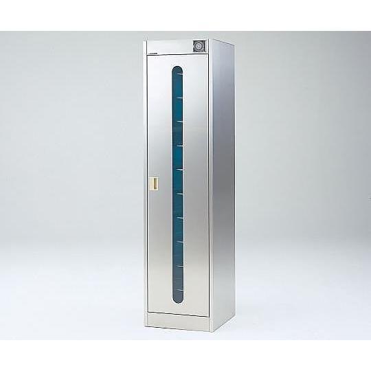 2-7978-03 紫外線殺菌ロッカーS−01FNT棚板仕様