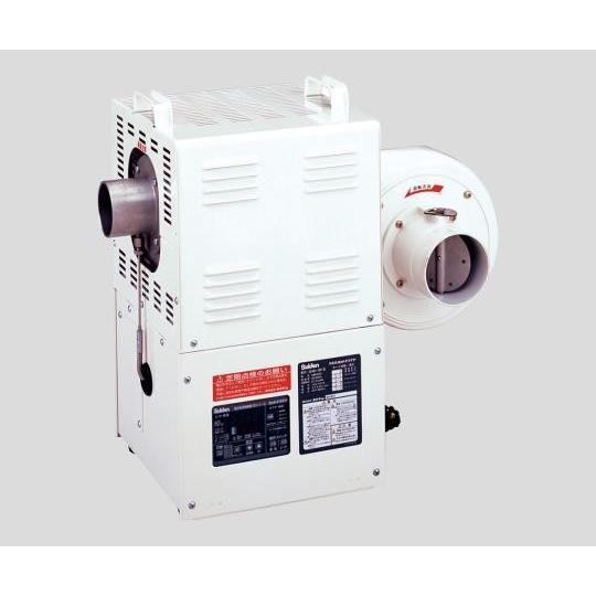 2-9991-04 熱風機 3.7m3/min 350℃ 三相200V SHD−6FII