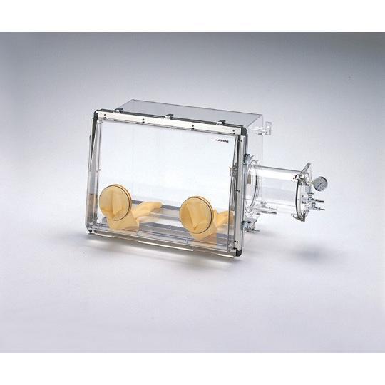 3-4095-01 ガス置換型アクリルグローブボックス B型