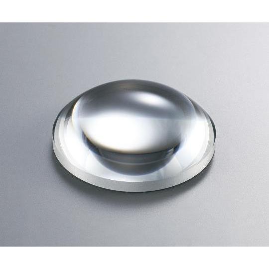 3-6967-48 平凸レンズ φ50mm 焦点距離:200mm バックフォーカス:195.32mm