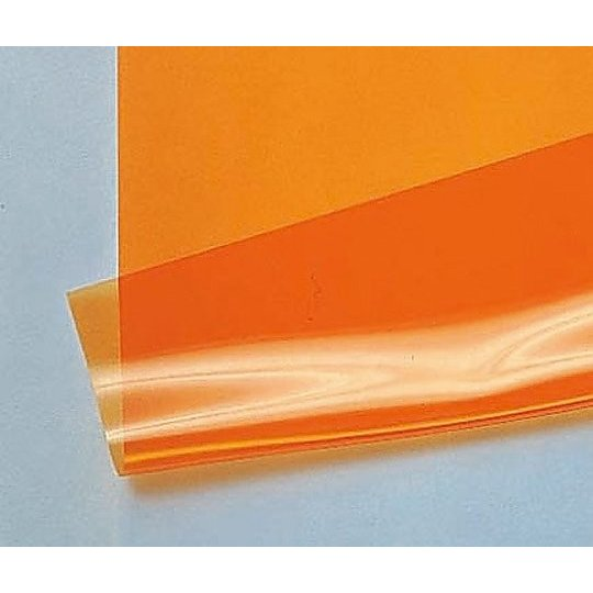 9-5005-02 帯電防止・紫外線遮蔽フィルム オレンジ