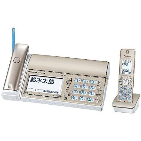 パナソニック デジタルコードレス普通紙ファクス(子機1台付き) シャンパンゴールド KX-PZ710DL-N