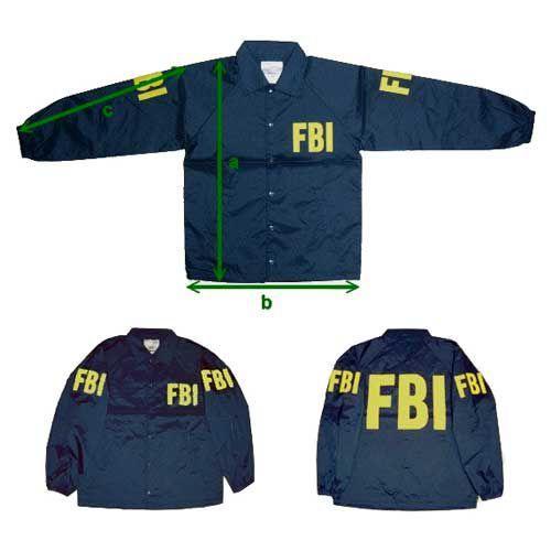 在庫販売 MIL−FORCE ミルフォース ウィンドブレーカー FBI ...
