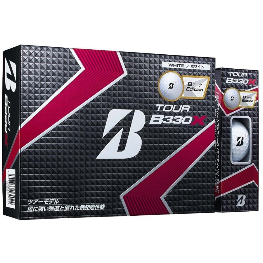 まとめ買いがお得5ダースセット BRIDGESTONE TOUR B330X 1ダース 12球入り 新品 ゴルフボール Bマークエディション