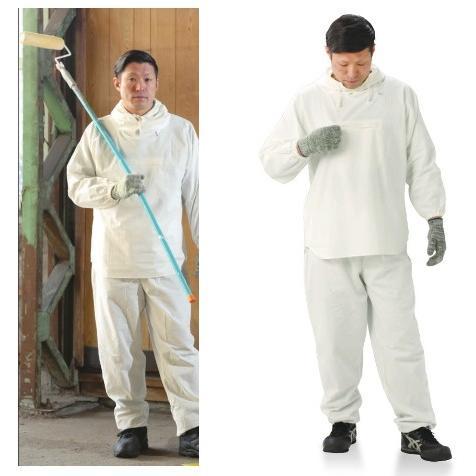 【送料込】NBC 綿100% 塗装服 HK-506 (30着入)サイズ F(北海道・沖縄・離島は送料別)
