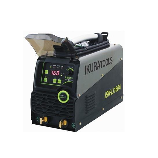 【送料込】今だけ特別付属品付き!IKURA育良精機 ライトアーク ポータブルバッテリー溶接機 ISK-Li160A