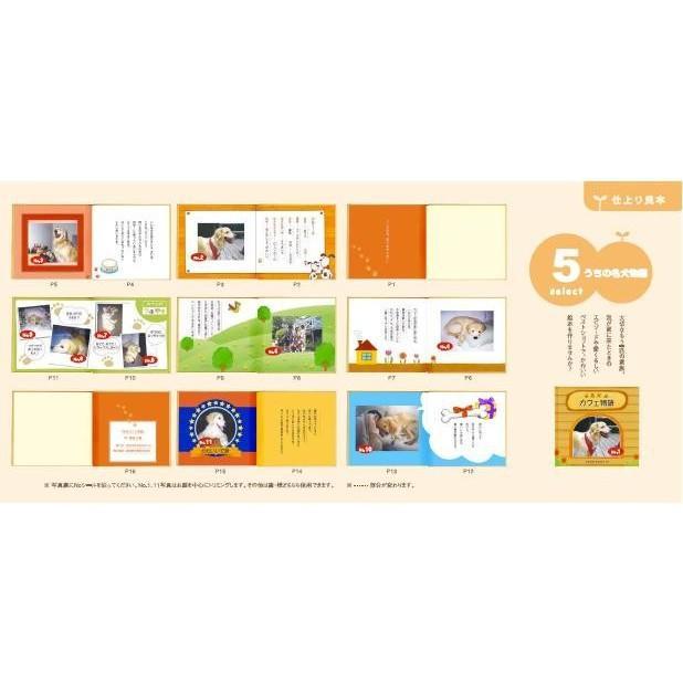 写真とメッセージで綴るアルバムえほん 絵本が作れる 選べるアルバムえほんお仕立て券8|ehon-netcom|13