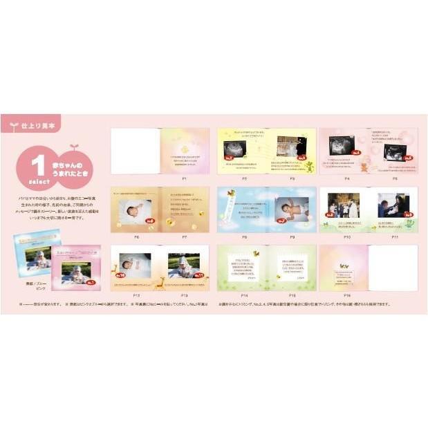 写真とメッセージで綴るアルバムえほん 絵本が作れる 選べるアルバムえほんお仕立て券8|ehon-netcom|05