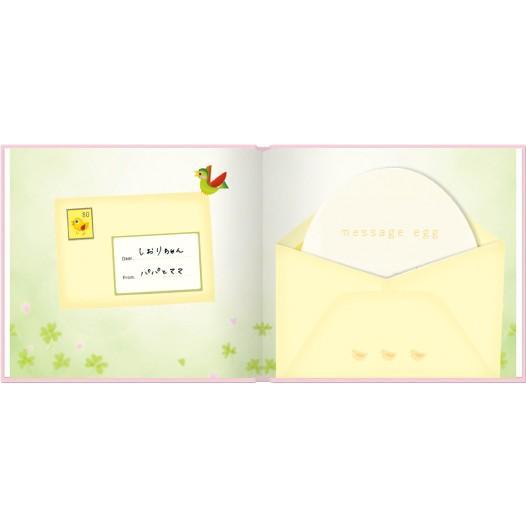 誕生 2、3ヵ月 写真ですぐ作れるしかけ絵本 出産祝い 手形キット アルバムブック たんじょうものがたり/手形キット付き ehon-netcom 11