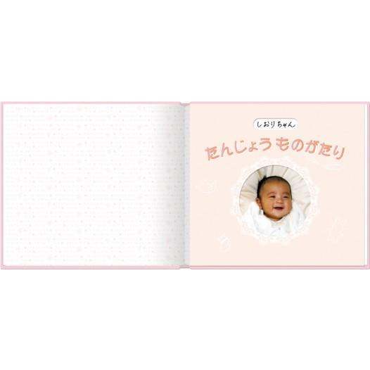 誕生 2、3ヵ月 写真ですぐ作れるしかけ絵本 出産祝い 手形キット アルバムブック たんじょうものがたり/手形キット付き ehon-netcom 03