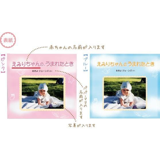 エコー写真 アルバム 出産祝い ベビーギフト 赤ちゃんのうまれたとき/絵本が作れるお仕立て券 ehon-netcom 05