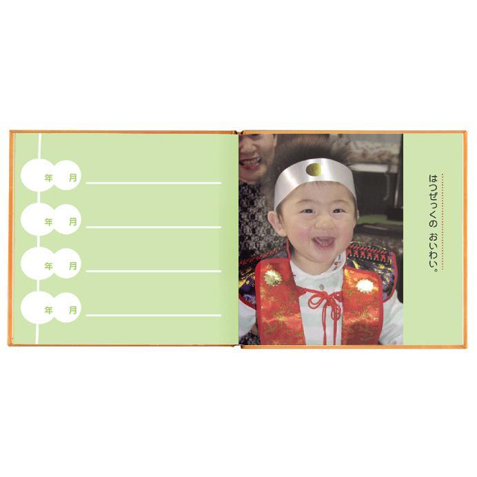 写真とメッセージで綴るアルバムえほん 誕生日プレゼント 名前の由来 成長記録 絵本が作れる バースディブック/お仕立て券 ehon-netcom 08