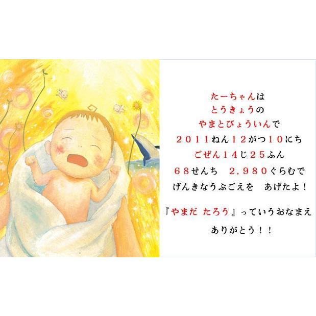 出産祝い 誕生記念 名前入りオリジナル絵本 世界でたった一冊 オーダーメイド たくさんのはじめて/スタンダード|ehon-netcom|04