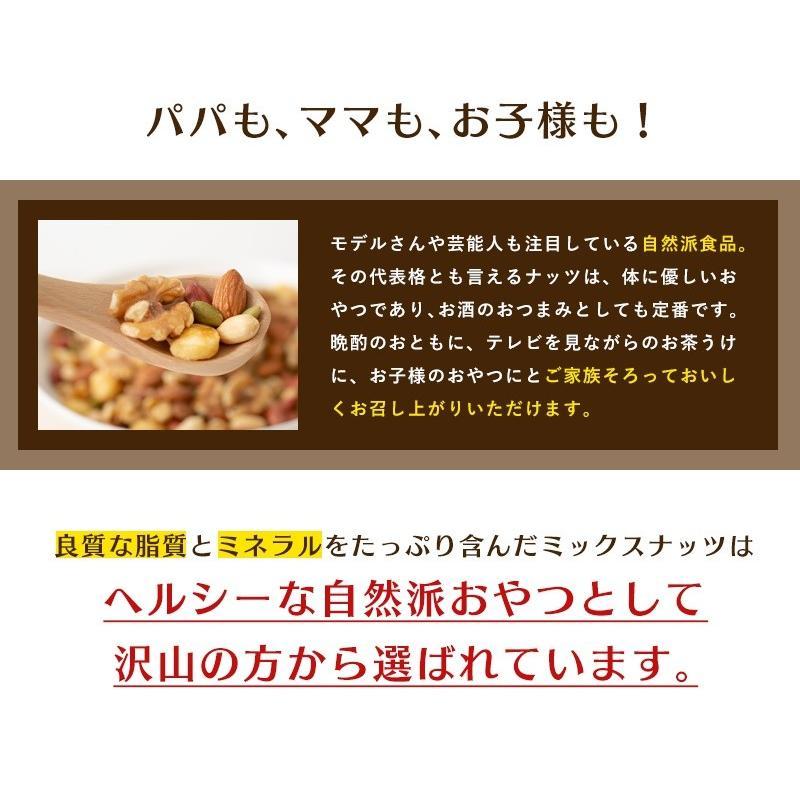 ミックスナッツ 塩味 1kgより少し少ない800g 送料無料 ナッツ アーモンド くるみ ジャイアントコーン バターピーナッツ かぼちゃの種 薄皮ピーナッツ eight-shop 07