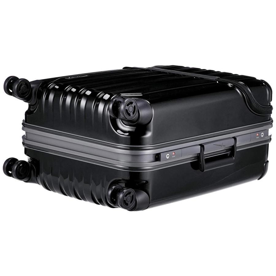 トラベリスト スーツケース フレーム トップオープン トラストップ 無料預入 76-20410 63L 62 cm 4.9kg ブラック