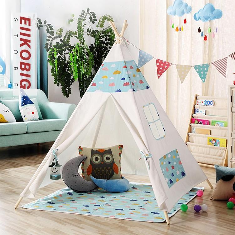キッズテントハウス 子供用プレイテント 室内屋内 ベビー 幼児 おもちゃ入れ おままごと 秘密基地 隠れ家 子供部屋 ギフト