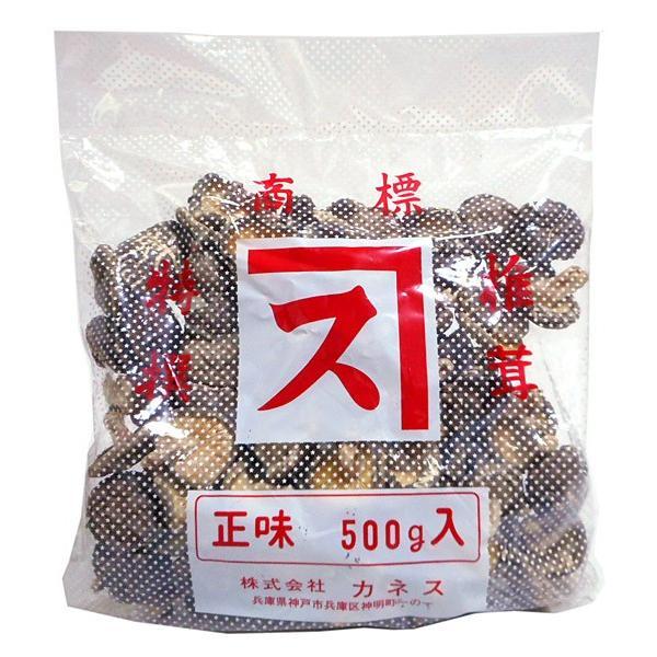 ★まとめ買い★ カネス 国産椎茸中ヨリ500g ×10個【イージャパンモール】
