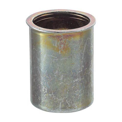 【キャッシュレス5%還元】TRUSCO スチール クリンプナット(薄頭) 摘要ねじM4×0.70 1箱(1000個)