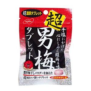 ノーベル 超男梅タブレット 30g【イージャパンモール】