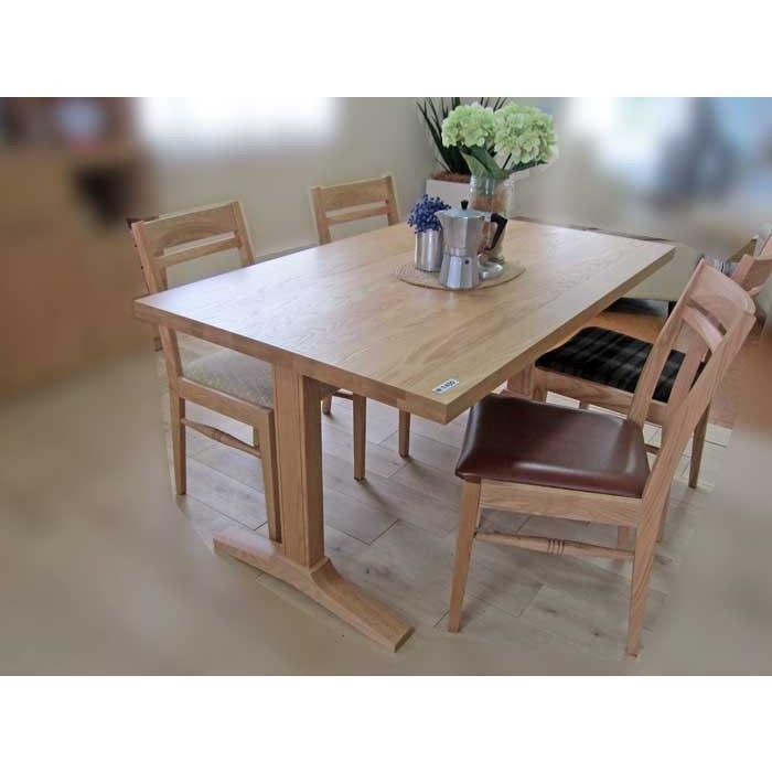 ベローズ150テーブルOC/OC+ベルサ椅子OC/NFB4脚 座面素材・色・柄指定受注生産
