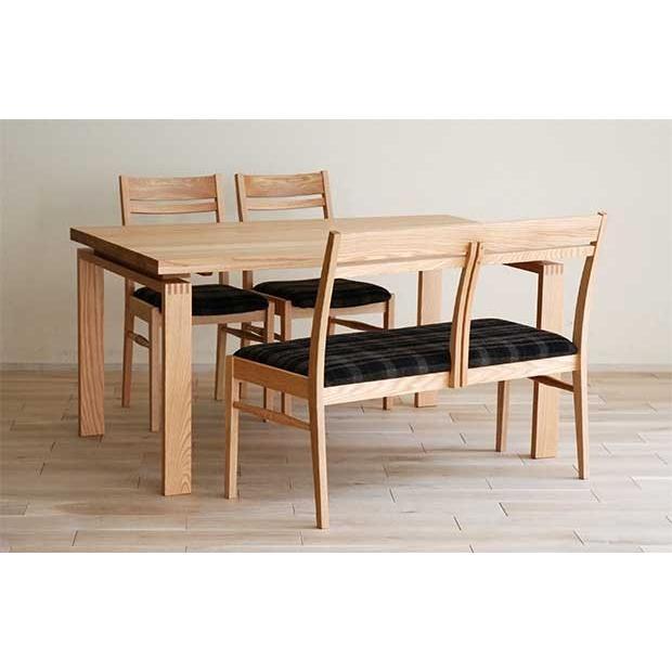 ベルサ160テーブルOC/OC+椅子OC/GBR 2脚+セティOC/GBR 座面素材・色・柄指定受注生産