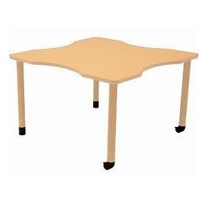 最新のデザイン ダイニングテーブルGX-HT No.R2 天板φ120cm 昇降脚セット(303338) (き)コイズミファニテック 介護用品-介護用品