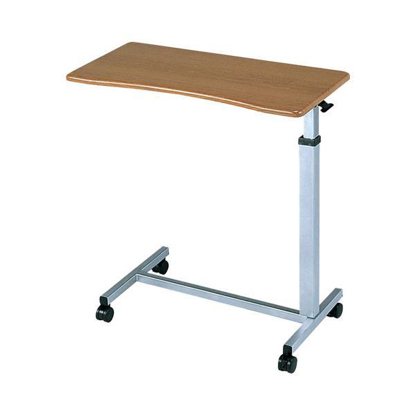 低価格の サイド No.710 ベッド 高さ調節 睦三 (き)ベッドサイドテーブル 介護用品 テーブル SL テーブル) (介護ベッド キャスター-介護用品