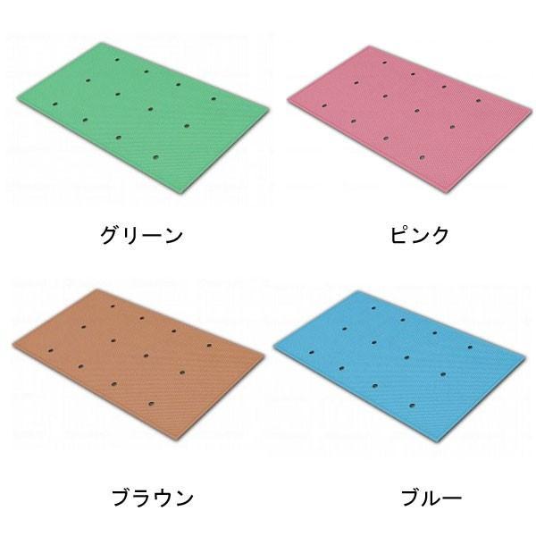 滑り止めお風呂マット ダイヤミニマット 穴開きタイプ SDMH30 (30×50×0.3cm) シンエイテクノ 介護用品 ekaigoshop2 02
