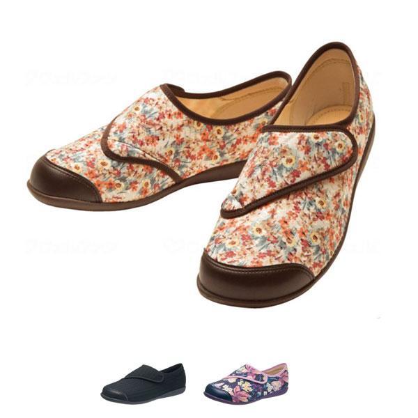 快歩主義 L131RS 婦人用 アサヒシューズ  (介護 靴 介護 シューズ 女性用 室内用) 介護用品|ekaigoshop