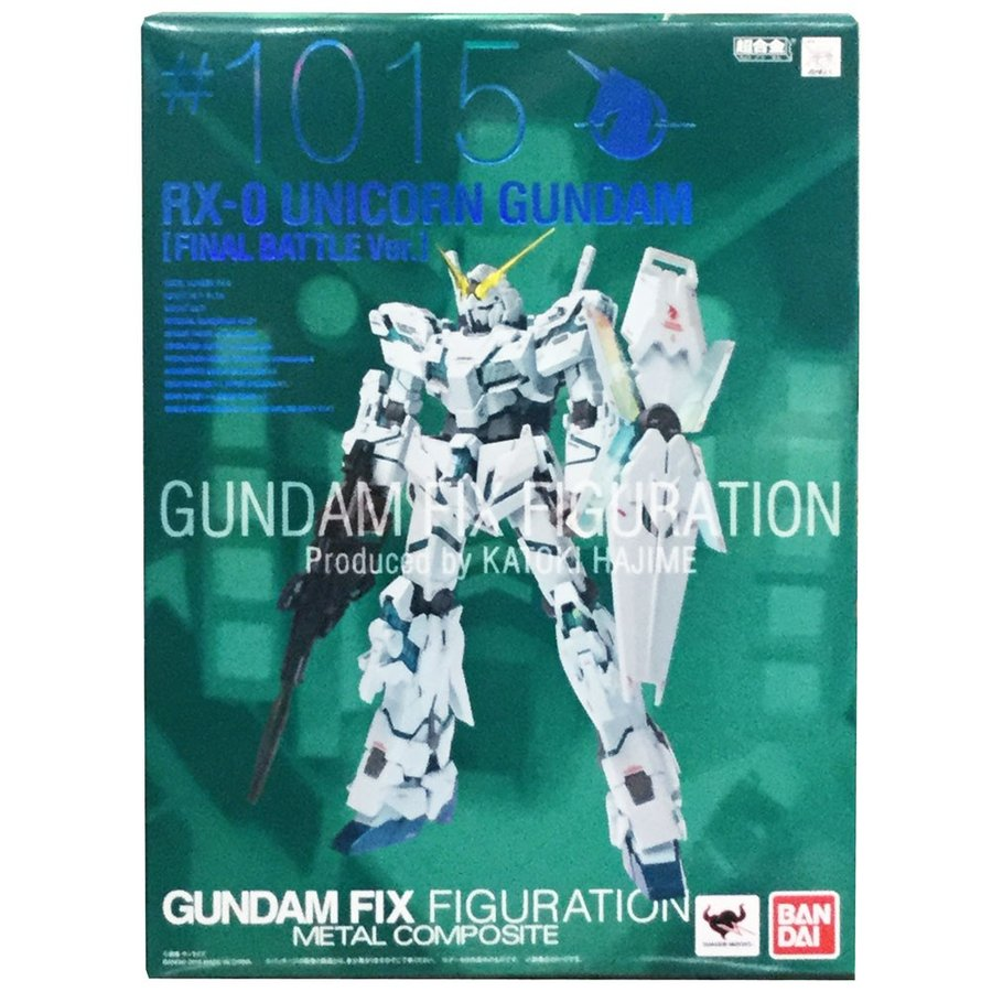 GUNDAM FIX FIGURATION METAL COMPOSITE RX-0 ユニコーンガンダム 最終決戦仕様/バンダイ/メタルコンポジット