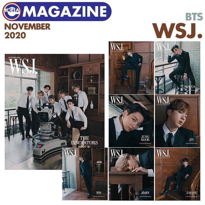 即日発送 表紙選択可 オンラインショッピング BTS 表紙 アメリカ雑誌 WSJ. MAGAZINE ばんたん 防弾少年団 ウォールストリートジャーナル 大特価 バンタン