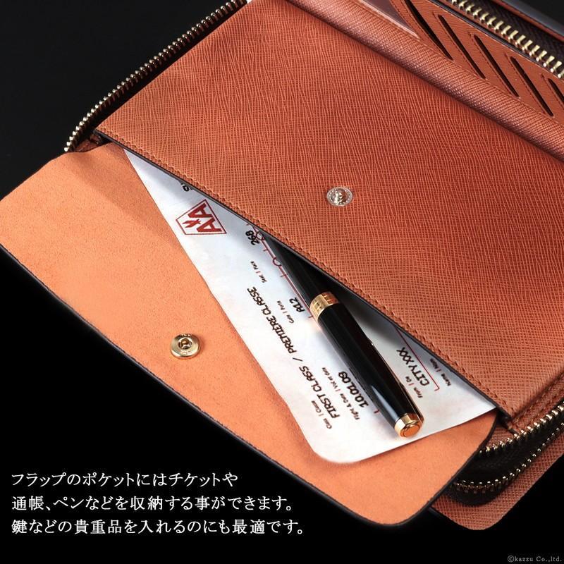 VACUA ヴァキュア セカンドバッグ クラッチバッグ メンズ メンズセカンドバッグ バッグ 鞄 本革 スペインレザー レザー ダブルファスナー メッシュ VA-004|el-diablo|10