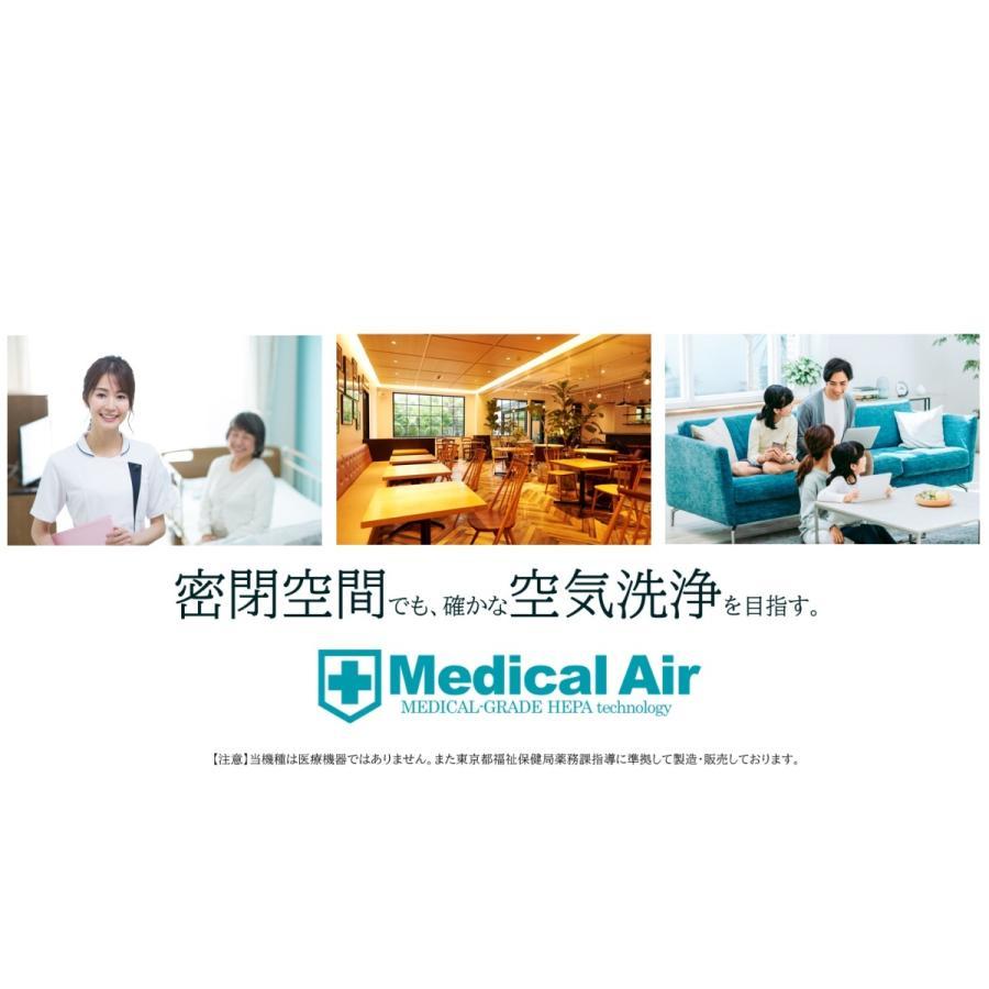 医療機関向け メディカルエア 医療グレードHEPA搭載 空気清浄機 Medical Air (本体(MA10)) elastik 02