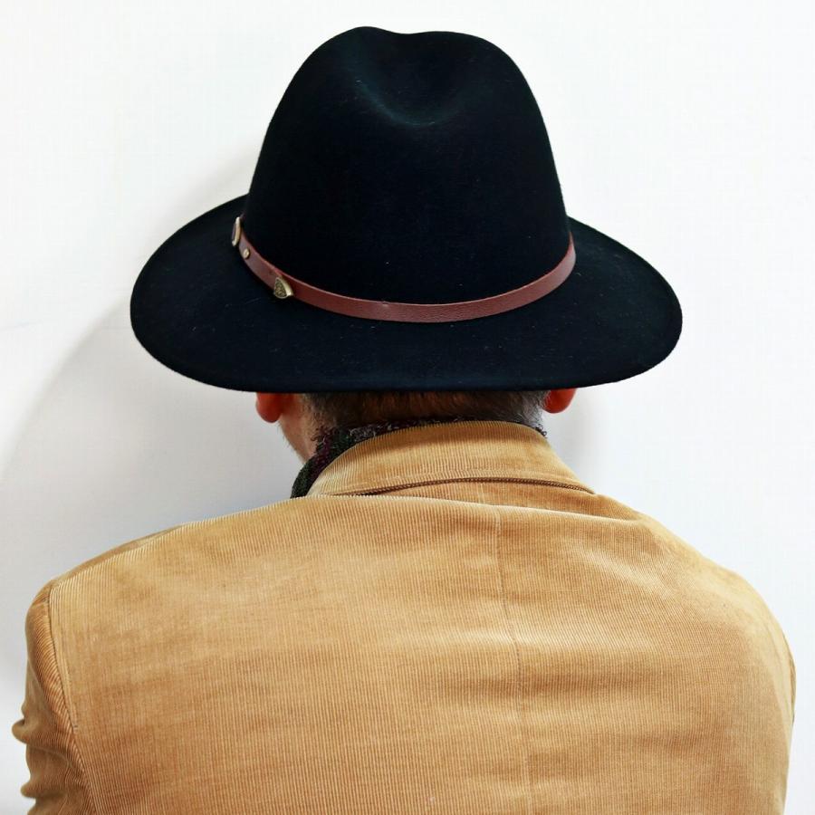 Black Christys/' Hats Crushable Safari Fedora
